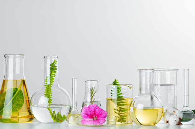 plants-laboratory-glassware-skincare-products-drugs-chemical-researches-concept_93675-87412